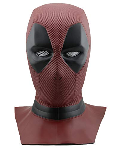 Yacn Deadpool mask Cosplay Costume for Men Dress for Teens Replica Full Head Helmet
