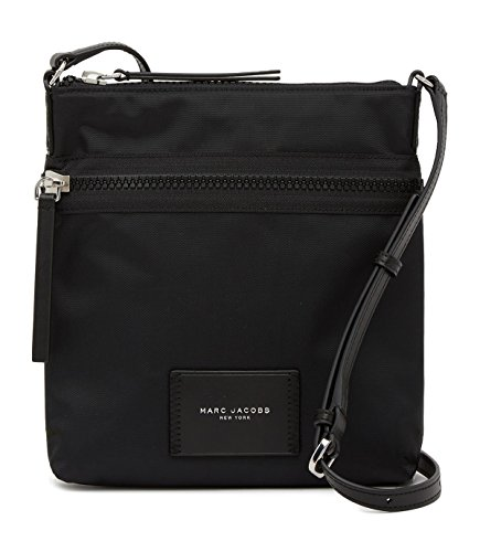 Marc Jacobs NS Nylon Crossbody Bag (Black) ()