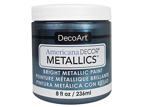 - DecoArt Ameri Deco MTLC Americana Metallics 8oz Pewter