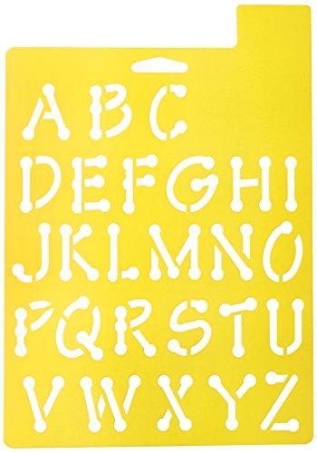 delta-creative-stencil-mania-stencil-7-by-10-inch-970390710-whimsical-dot-alphabet