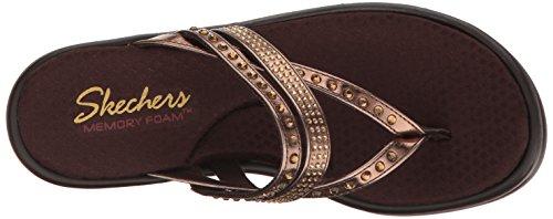 Skechers Damen Rumblers-Hotshot Sandalen Bronze