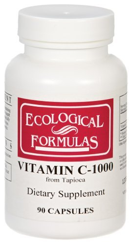 Ecological Formulas / Cardiovascular Research – Vitamin C-1000 (From Tapioca), 1,000 mg, 90 capsules Review