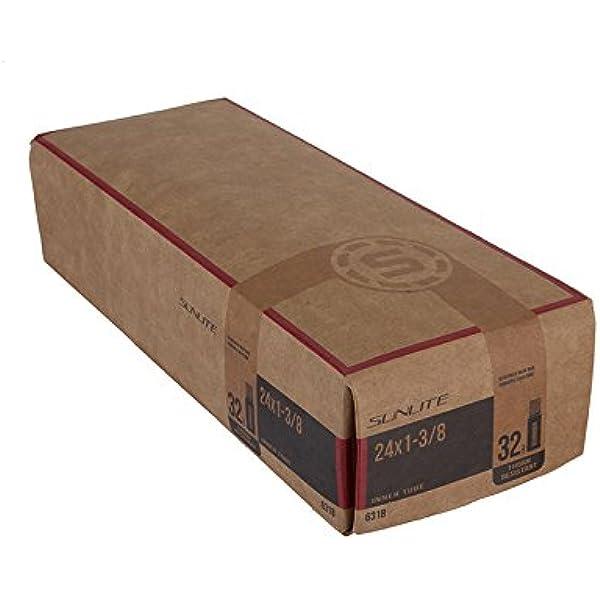 """Black SUNLITE Thorn Resistant Schrader Valve Tube 32mm 20 x 1.50-1.95/"""""""