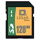 : Lexar Media 128 MB Secure Digital Card