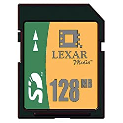 Lexar Media 128 Mb Secure Digital Card