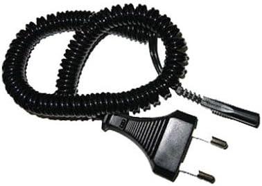 Marrón Conector Cable Espiral Negro para marrón Señor afeitadora ...