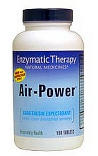 Enzymatic Therapy Air-power, 100 Tablets (Pack of 2)