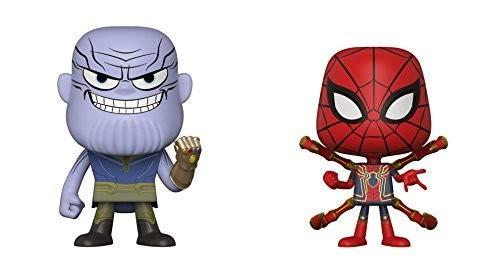 Funko Pop! Marvel Figura de Vinilo de los Vengadores Infinity War - Thanos y Iron Spider