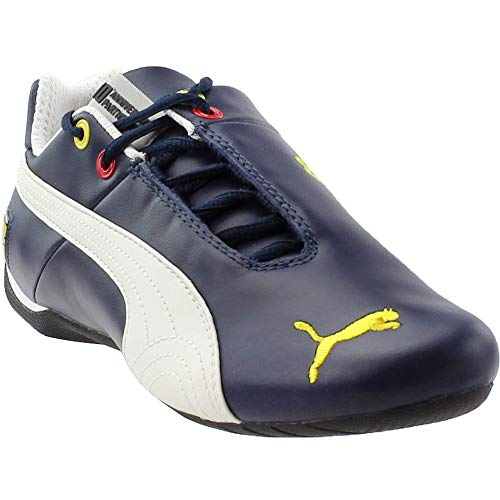 PUMA Mens Scuderia Ferrari Future Cat Leather Athletic Blue 6.5