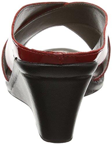 Lotus Trino - Mules Mujer Red (red Patent)