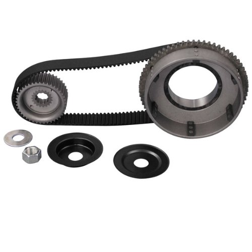 [Belt Drives Ltd. 8MM 1-1/2in. Belt Drive Kit for Harley Davidson 1965-78 Big Tw] (Belt Drives Ltd Rear Pulley)