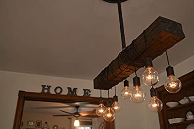 Wood Beam Pendant Light