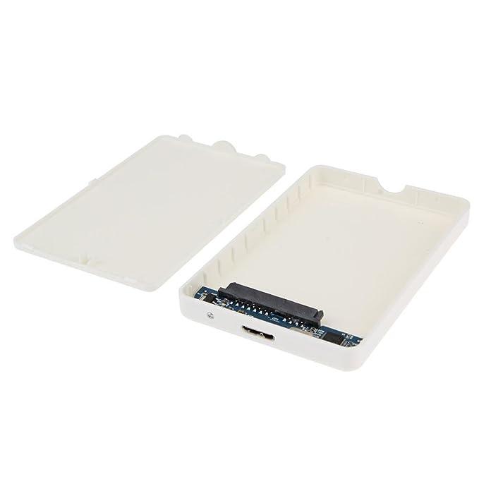 Amazon.com: Carcasa para disco duro, 2,5 pulgadas, USB 3.0 ...