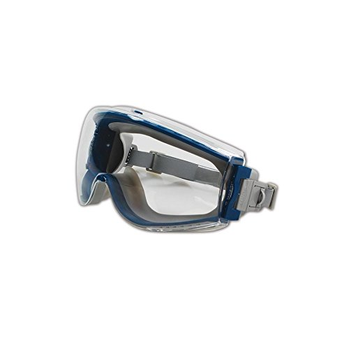 Uvex Stealth Safety Goggles with Uvextreme Anti-Fog Coating (S39610C) by Uvex