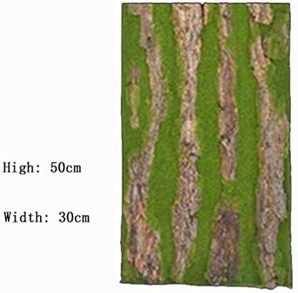 人工芝生、人工樹皮4本入サイズはバラエティ豊富です (Color : F, Size : 1pack)