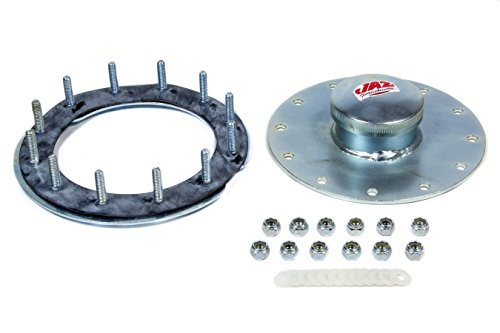 Fuel Cell Plates (JAZ 12-Bolt Flange Dragster Fuel Cell Filler Plate Kit P/N 390-551-03)