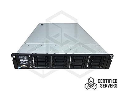 HP Proliant DL380 Gen7 8 BAY Server with 2X2.40GHz Quad Core E5620 Xeon Processor and 48GB Memory - 2X146GB 10K SAS - P410i and P410 (256MB) - No OS - 2PSU