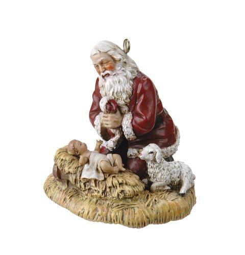 Joseph's Studio by Roman Holiday Ornament, The Kneeling Santa ()