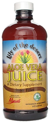 Lily Of The Desert Aloe Vera Juice, 16 Ounce