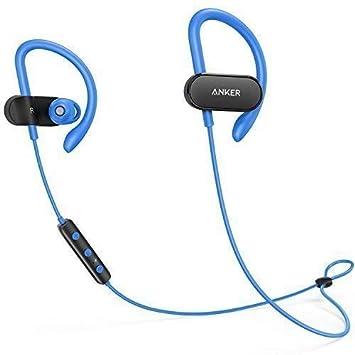 Anker SoundBuds Curve Auriculares inalámbricos Bluetooth 4.1 con batería de 12.5 Horas, Sonido estéreo AptX