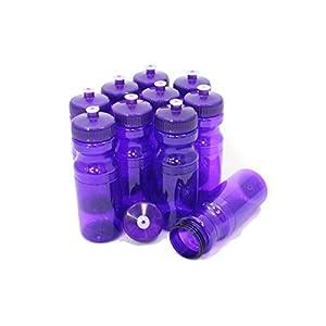 Rolling Sands 24oz Drink Bottles Purple (10 Pack)