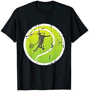 Birthday Gift Tennis  For Tennis I Player On A Green Tennis Ball Long Sleeve Funny Shirt / Navy / S - 5XL