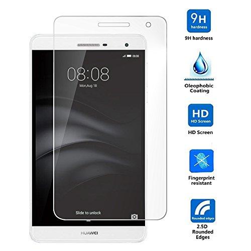 HuaweiMediaPadT27.0Pro強化ガラスフィルム超薄型超耐久高透過率薄さ0.3mm9H硬度2.5D防指紋飛散防止(HuaweiMediaPadT27.0Pro,強化ガラスフィルム)