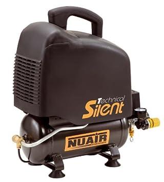 Compresor NUAIR Ventp Silent. 1 HP 6 litros: Amazon.es: Bricolaje y herramientas