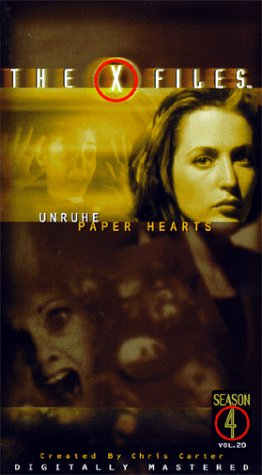 The X-files: Unruhe/Paper Hearts [VHS]