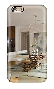 New Tpu Hard Case Premium Iphone 6 Skin Case Cover(cottage Style Living And Dining Room)
