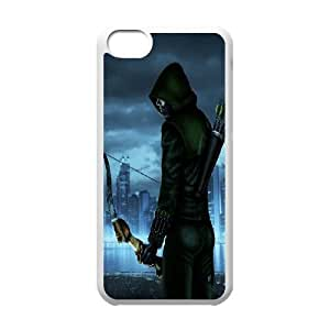FOR Iphone 5c -(DXJ PHONE CASE)-TV Show Green Arrow-PATTERN 8