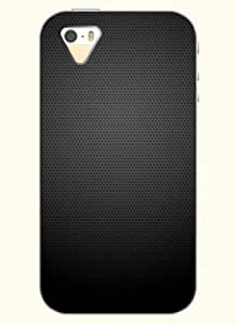 OOFIT Phone Case design with Black Metal Mesh for Apple iPhone 5 5s 5g by supermalls