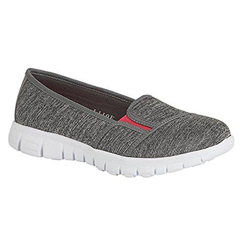 Dek - Zapatillas de Material Sintético para mujer gris gris