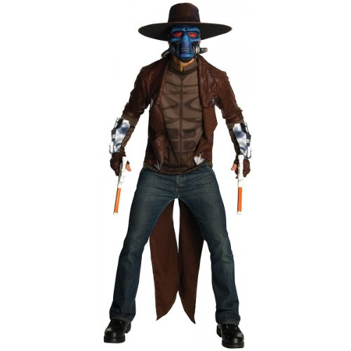 Star Wars Deluxe Cad Bane Costume, Black, X-Large