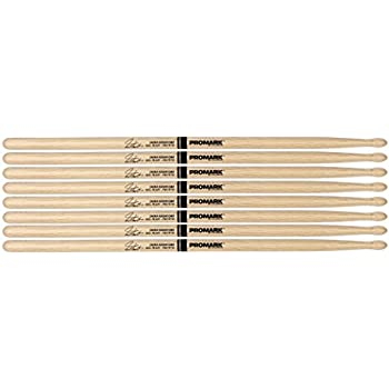 12 Pairs ProMark Shira Kashi Oak 747 Neil Peart Nylon Tip Drum Sticks PW747N