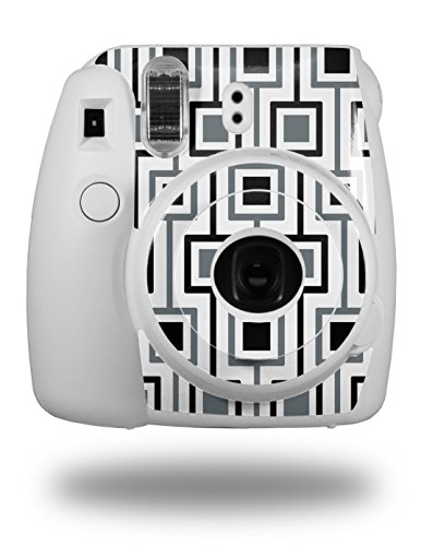 WraptorSkinz Skin Decal Wrap for Fujifilm Instax Mini 8 Camera Squares In Squares (CAMERA NOT INCLUDED)