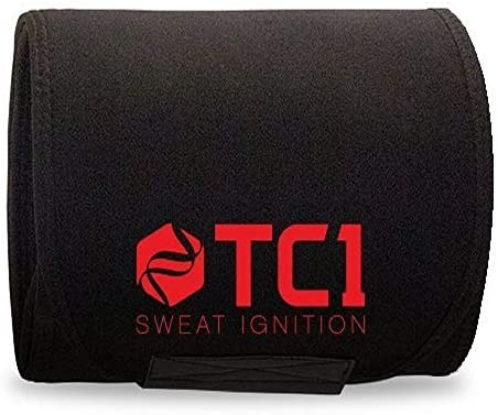 TC1 Waist Belt Bundle with TC1 Sculpt and TC1 Advanced Topical Sweat Workout Enhancer with Capsaicin 4