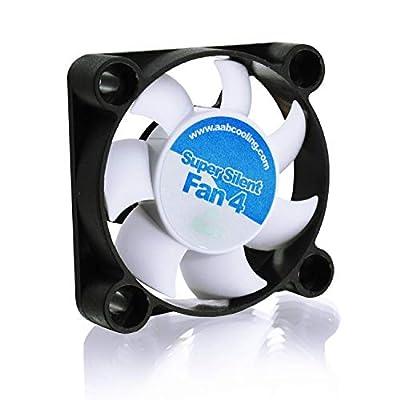 AABCOOLING Super Silent Fan 4 - Leise und Efizient 40mm Gehäuselüfter mit 4 Anti-Vibration-Pads - Mini Ventilator…