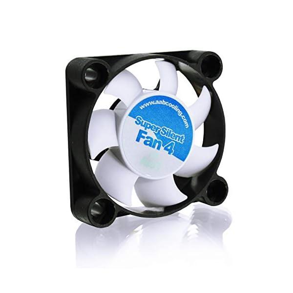 41PVUKm4nDL AABCOOLING Super Silent Fan 4 - Leise und Efizient 40mm Gehäuselüfter mit 4 Anti-Vibration-Pads - Mini Ventilator…