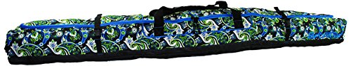 Sportube Traveler Ski Bag, Paisley by Sportube