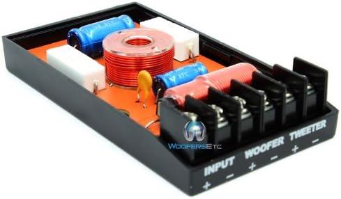 Alphasonik 2-Way 12dB//Octave Crossover Pair Set PCZXO MJ