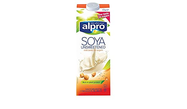 Alpro soja Lácteos Wholebean Longlife Leche Alternativa 1L (Pack de 1ltr): Amazon.es: Alimentación y bebidas