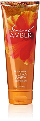- Bath & Body Works Signature Collection, Sensual Amber, Ultra Shea Body Cream