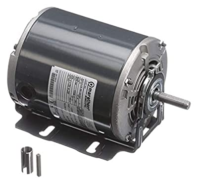 Marathon Motors 1/4 HP General Purpose Motor,Split-Phase,1725 Nameplate RPM,Voltage 115,Frame 48Z