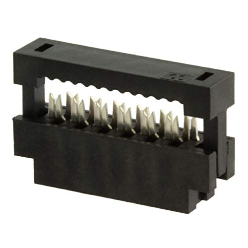 CONN RCPT 12POS IDC 28AWG GOLD, (Pack of 30)