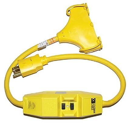 amazon com coleman cable 02841 in line tri source 12 3 sjeow 2 1 2 rh amazon com Ground Fault Circuit Protectors