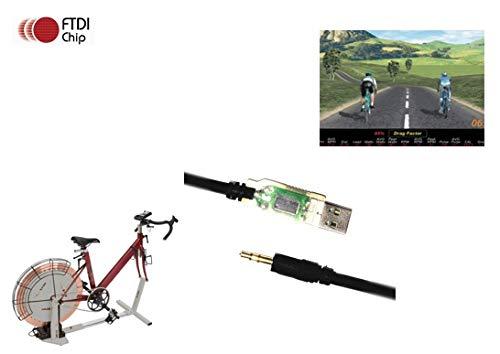 CompuTrainer EZSync FTDI USB Programming Cable for Racermate Velotron Racermate One EZSync022