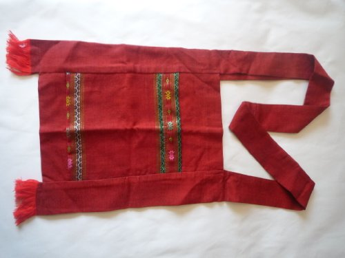 Ariyas Thaishop, Borsa a tracolla donna rosso rosso
