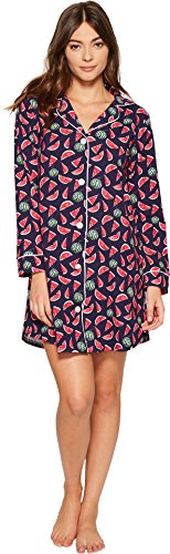 BedHead Women's Long Sleeve Night Shirt Taste Of Summer Small