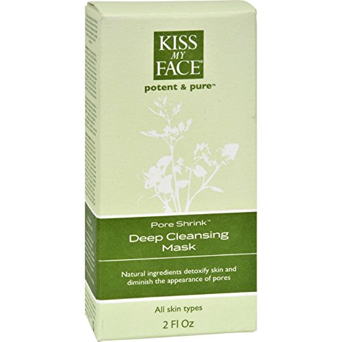 Kiss My Face Potent and Pure Complete Facial Care System Pore Shrink Deep Cleansing Mask 2 Fl. Oz. Treatments and Masks -